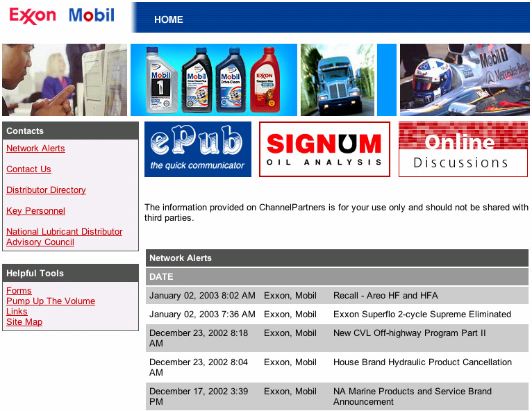 ExxonMobil screenshot 1
