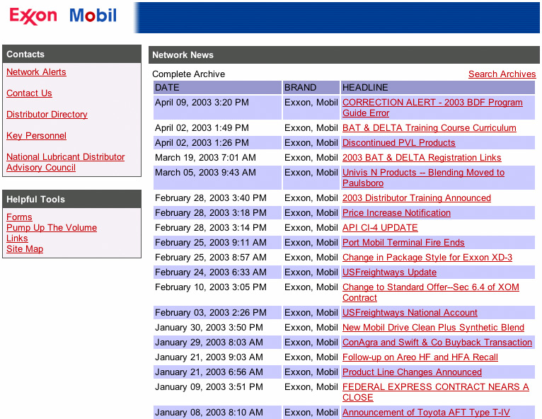 ExxonMobil screenshot 2